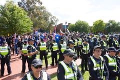 Återkräva Australien samlar - Melton Royaltyfria Foton