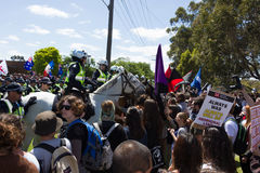 Återkräva Australien samlar - Melton Royaltyfri Bild
