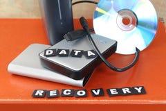 Återställ data Arkivbild