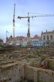 Återställande Dresden Arkivfoto