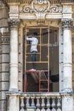 Återställande i den gamla havannacigarren, Kuba Royaltyfri Foto