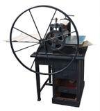 Återställd gammal boktryck på arbete Fotografering för Bildbyråer