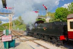 Återställd lokomotiv för q-gruppånga 30541 royaltyfri fotografi