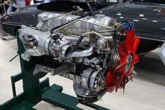 Återställd Mercedes Benz SL300 motor Arkivfoto