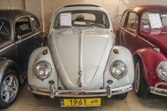 Återställd tappningVolkswagen Beetle bil Royaltyfria Bilder