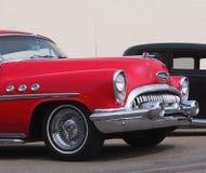 Återställda röda Mercury Royaltyfri Fotografi