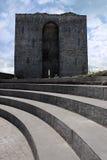 återställt torn för slott listowel arkivfoton