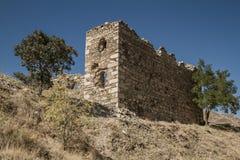 Återstår nära den historiska Harput slotten i Elazig, Turkiet Royaltyfria Bilder