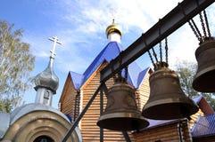 Återuppbyggd kyrka av förklaringen i Penza, Ryssland Royaltyfri Bild