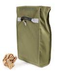 återvinningsbar säck för lunch Arkivfoto