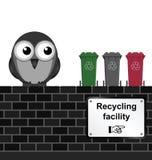 Återvinningteknologi hjälper gemenskaper återanvänder mer avfalls från deras avskrädesamling Arkivbild