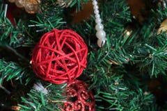 Åtföljande jul Arkivfoton