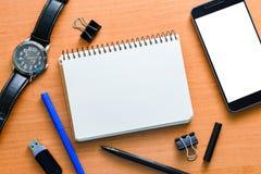 Åtlöje för funktionsduglig tabell upp Fotografering för Bildbyråer