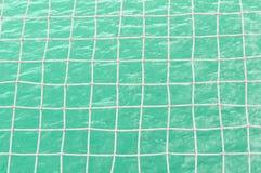 Åtsittande fisknät för texturvatten Arkivfoton