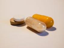 Åtskilliga medicindrogpreventivpillerar 4 Royaltyfri Fotografi