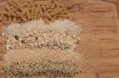 Åtskilliga organiska korn Arkivbilder