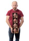 Åtskilliga personligheter Arkivfoto