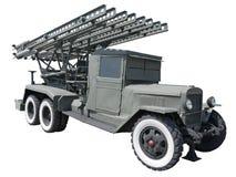 åtskilligt raket för katyushalauncher Royaltyfria Foton