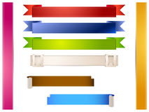 Vektorband stock illustrationer