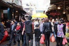 Åttonde marknad av den amoy staden, porslin Royaltyfri Bild
