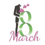 Åttondel av mars Royaltyfria Bilder