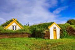 村庄祖先在冰岛 免版税库存图片