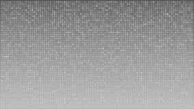 横跨灰色背景,loopable动画的闪动的小点 向量例证