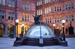 水房正方形,谨慎保证大厦,高哈博,伦敦,英国 库存图片