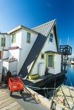 水的之家 经济生活在过度拥挤的城市 免版税图库摄影
