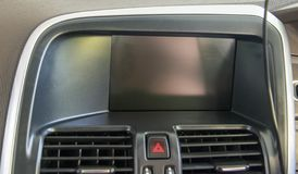 汽车方向盘多功能按钮 库存图片