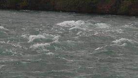 河急流慢动作视图  影视素材