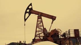 油泵剪影 股票录像