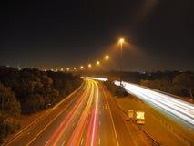 沿高速公路 库存照片