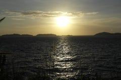 海在Nam Du,越南 库存图片