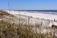 海滩在Destin,佛罗里达 免版税库存照片