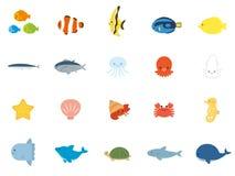 海洋动物 库存例证