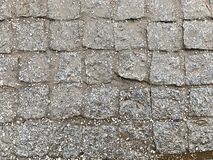 湿铺路板,在雨以后 图库摄影