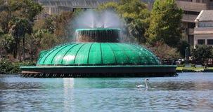 湖Eola喷泉 股票视频