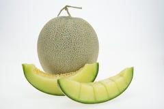 查出的甜瓜瓜 免版税图库摄影