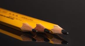 木 铅笔 三 图画 投反对票 库存图片