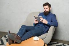 有用的信息 读当局企业书 企业经验 政策制定零件管理 有胡子的人 库存照片