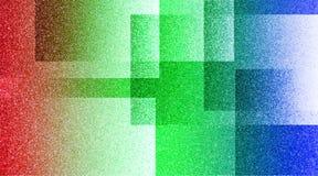 抽象多彩多姿的背景被遮蔽的条纹图形和块在对角线与葡萄酒多彩多姿的纹理 向量例证