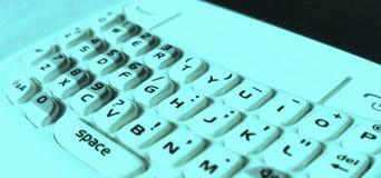 抽象巧妙的手机键盘 库存图片