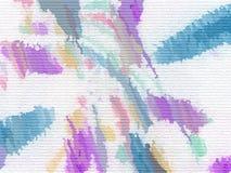 抽象计算机生成的水彩绘画 库存图片