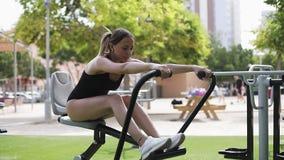 户外锻炼 健康生活方式 影视素材