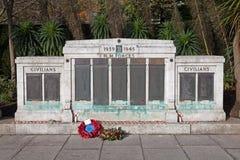 战争纪念建筑滨海韦斯顿 库存照片
