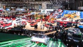日内瓦国际汽车展示会 免版税库存照片