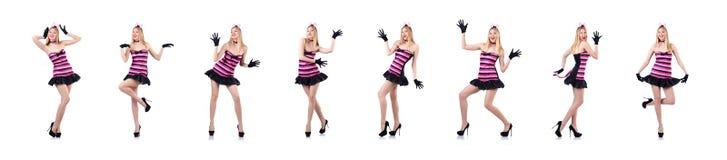 时尚概念的高妇女 库存照片