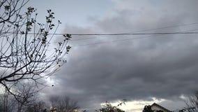 时间间隔美好的日落在冬天 影视素材