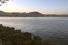 旅途通过里约热内卢 免版税库存照片